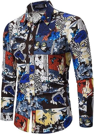 DAY8 Camisa de Hombre Slim Fit Elegantes Manga Larga Clásica Invierno Oversized Camisas Hombre Mangas Largas Clásicas Elegante Invierno Tallas Fuertes Casual Oficina Fiesta Turquesa XL: Amazon.es: Ropa y accesorios