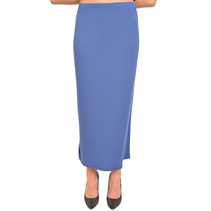 f204d7f4ff Stretch is Comfort Women's Long Tube Skirt at Amazon Women's Clothing store: