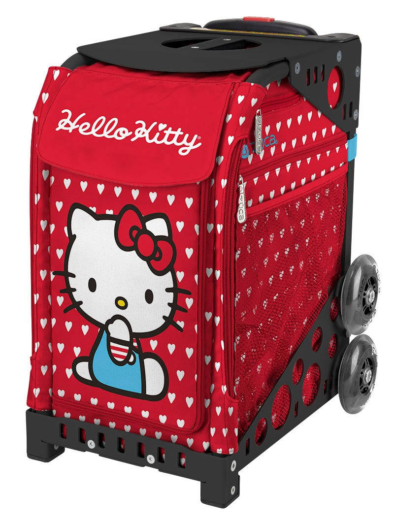 ZÜCA Sport Hello Kitty Labor of Love Rolling Bag Black Frame by ZUCA (Image #2)