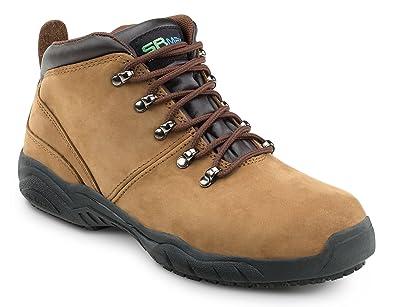Raleigh Men's Brown Slip Resistant Waterproof Cold Storage Hiker