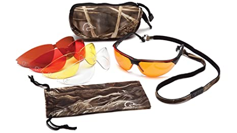 4bb06ae8e96b Amazon.com   Ducks Unlimited Shooting Eyewear Kit With 5 Anti-Fog ...