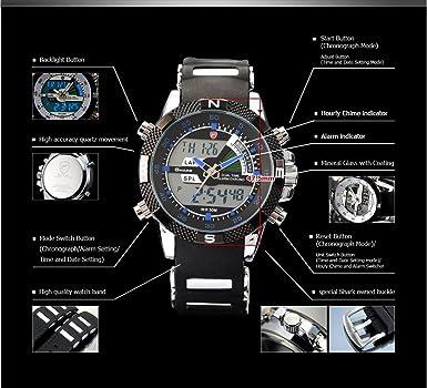 Amazon.com: Shark - Reloj de pulsera deportivo para hombre ...