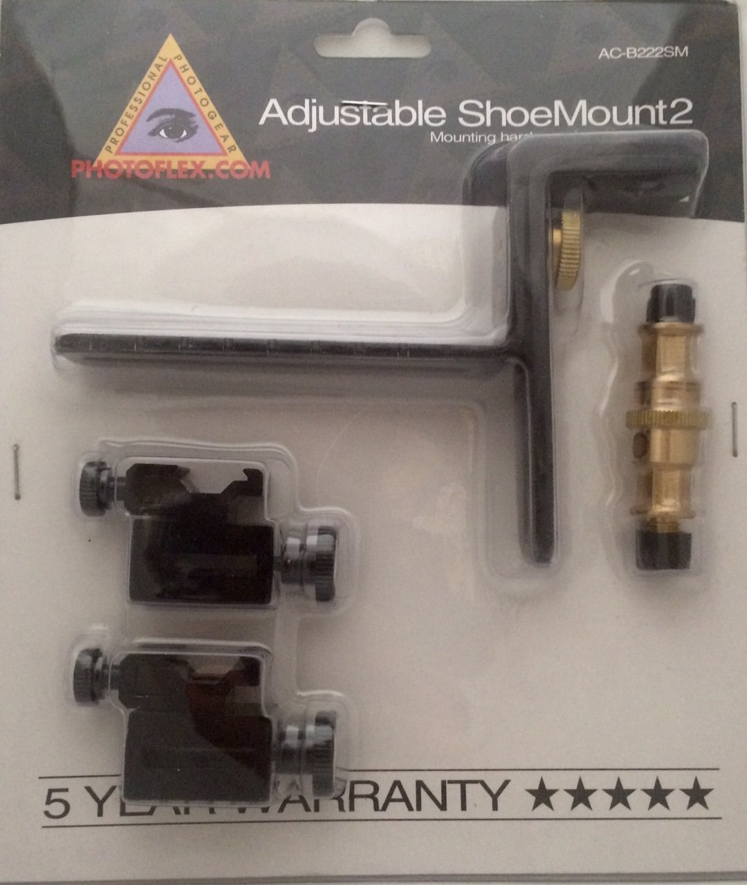 Photoflex AC222SM Adjustable Shoe Mount by Photoflex