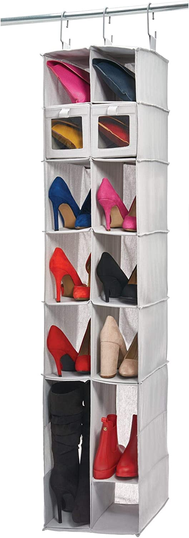 iDesign Evie Closet, Shoe and Boot Organizer