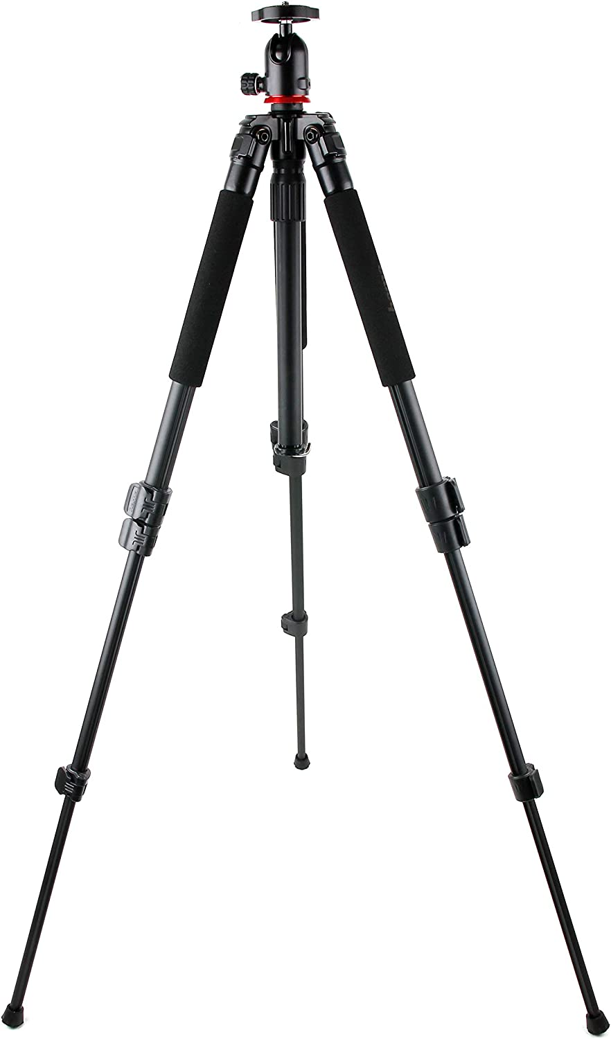 DURAGADGET Professional Sturdy Tripod w// 3D Ball Head XS9 HD /& Replay XD720 HC-V500 //Polaroid XS100 Extreme Edition XS7 HD Compatible with Panasonic HC-V100