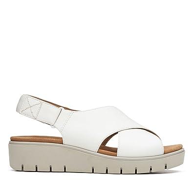 neue Stile Einkaufen großer Abverkauf Clarks Damen Sandalen Schwarz Schwarz: Amazon.de: Schuhe ...