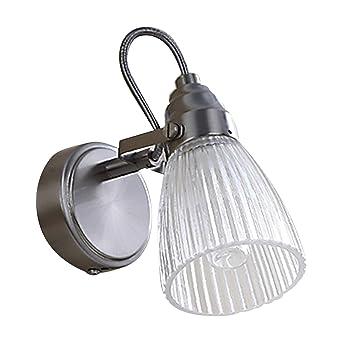 Extrem Lampenwelt Wandleuchte 'Kara' (spritzwassergeschützt) (Modern) in EG64