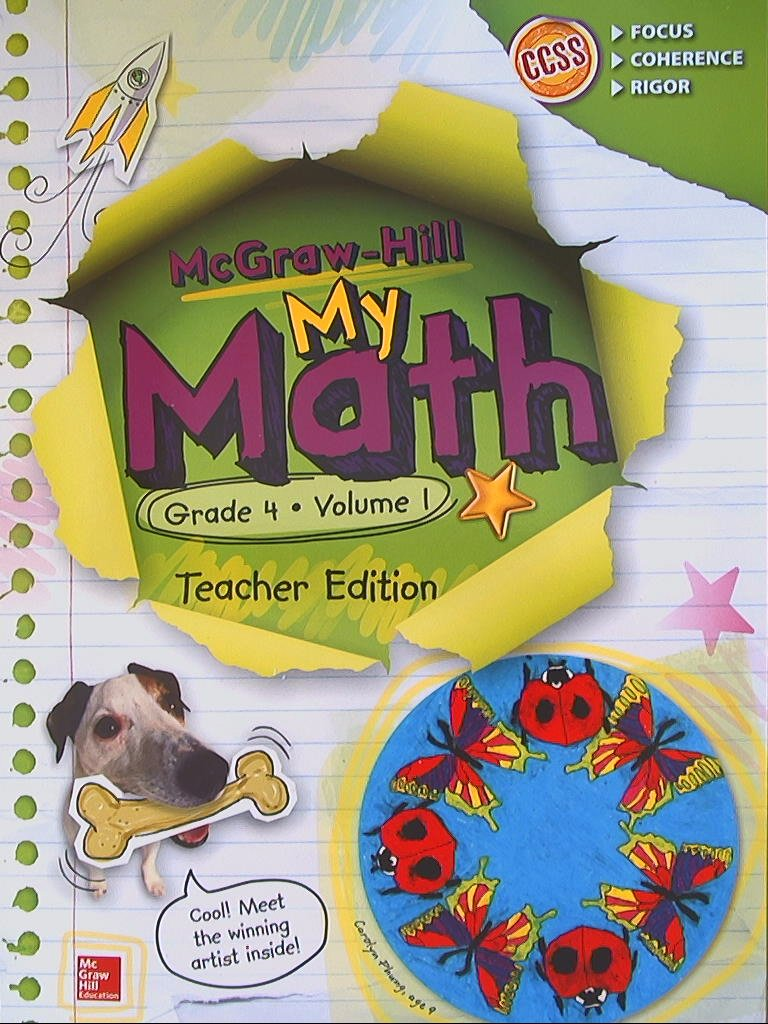 Amazon.com: My Math Teacher Edition, Grade 4, Vol. 1 (9780021383993 ...