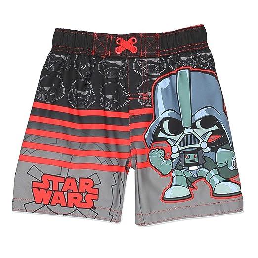 6822ba13a5934 Amazon.com: Star Wars Boys Swim Trunks Swimwear: Clothing