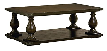 Standard Furniture 29251 Pierwood Coffee Table, 54 W x 32 D x 20 H, Brown