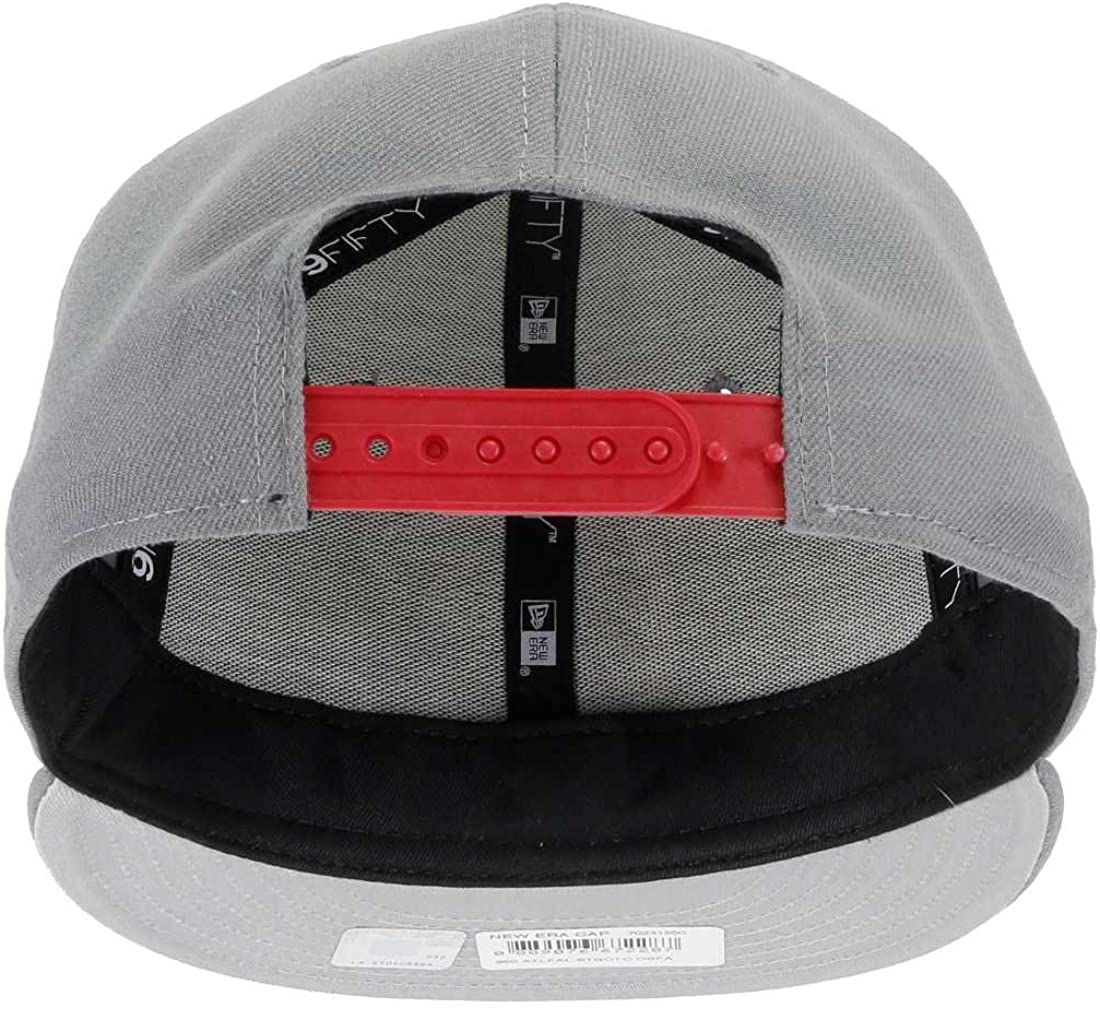 New Era Atlanta Falcons 9FIFTY Snapback Wheat Leather Combi BEIGE//Black