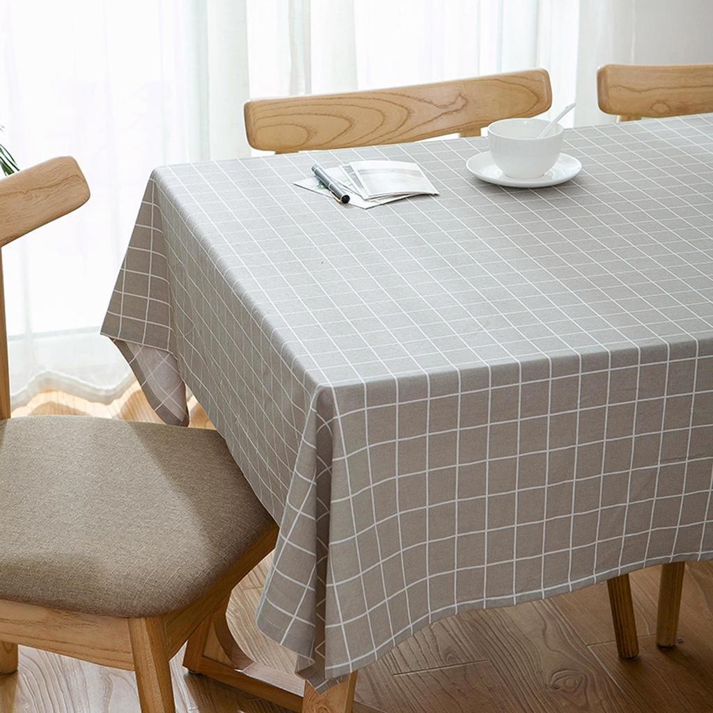 Xiaowu Einfache Leinen Tischdecke Couchtisch Tisch Esstisch Stoff Garten Baumwolle Erfrischend, 006, 145  200cm B07C34DS3Z Tischdecken Günstigstes | Vielfalt