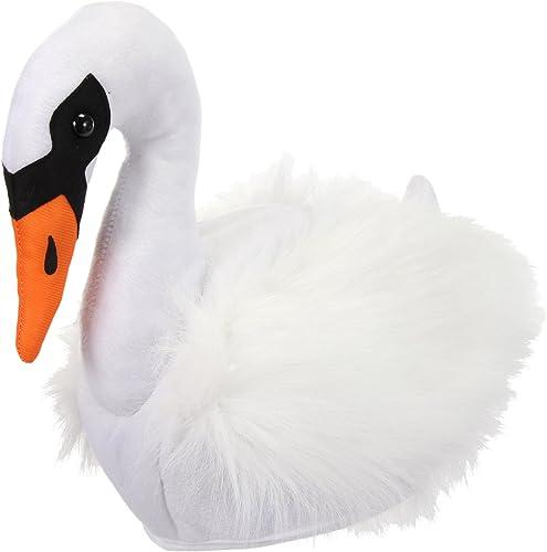 Classic Swan Bird Water Fly Flight Adjustable Cowboy Cap Denim Hat Low Profile Gift for Men Women