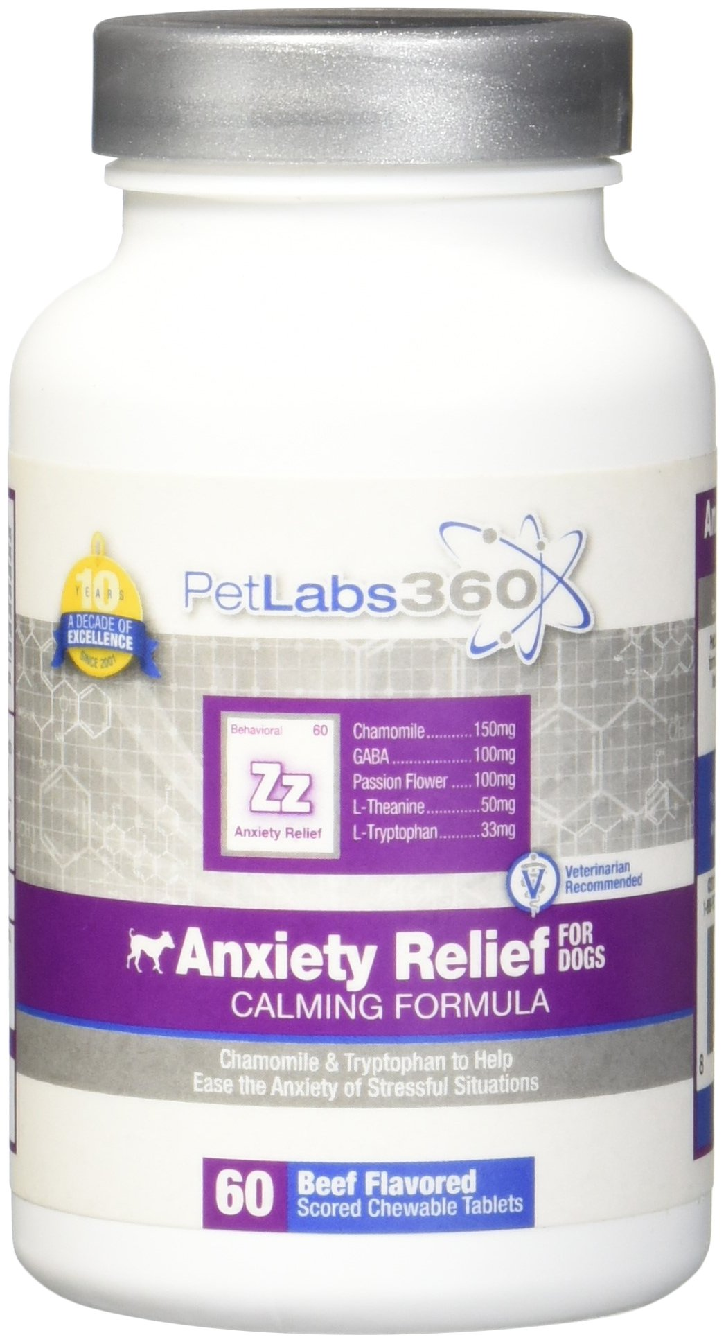 PL360 Anxiety Relief for Dogs, 60ct