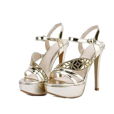 ac654cdeb5a Sky-Pegasus 2018 Summer Women Fashion High Heels Sandal Sexy Platform Party  Dress Sandal Woman