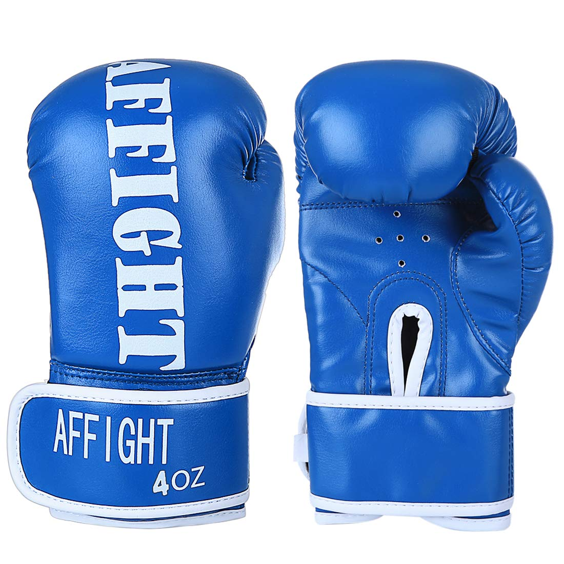 Red Haoun Kids Boxing Gloves 2oz Training Gloves for Children Sparring Training Gloves Punching Bag Mitts Age 3-7 Years
