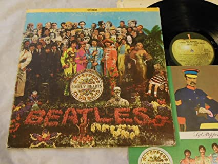 The Beatles Sgt Peppers Lonely Hearts Club Band Vinyl Lp Apple