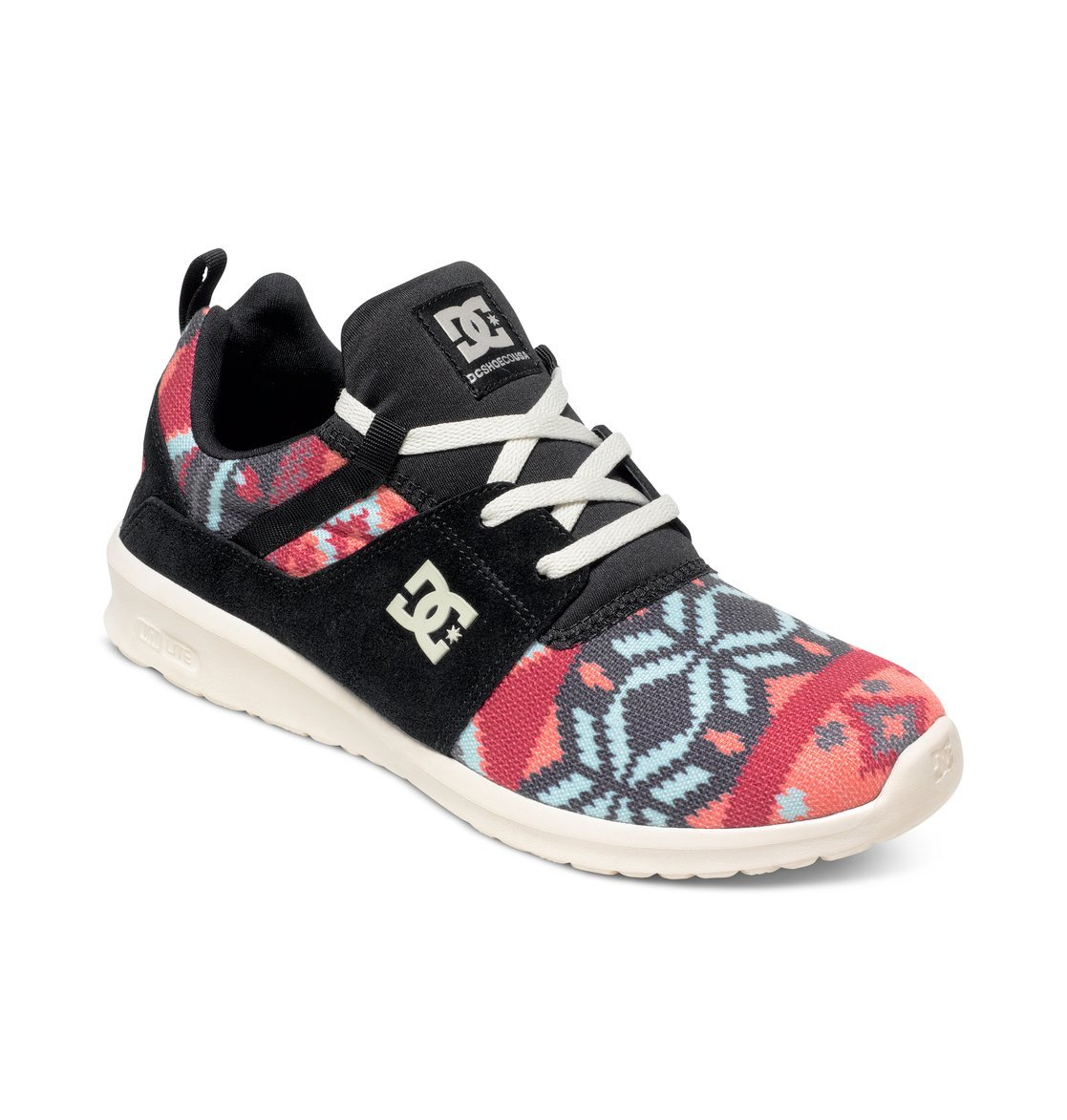 DC Shoes, Heathrow SE J Shoe - Zapatillas para Mujer 37 EU|Negro