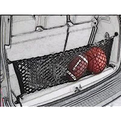 Cargo Net Nylon Rear Trunk for 2004 05 06 07 08 09 10 11 12 13 14 15 2016 2020 2020 NEW Toyota Sienna by Kaungka: Automotive