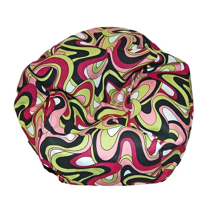 Amazon.com: Ahh. Productos Color Splash – Avocado Puf silla ...