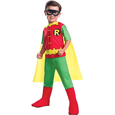 Rubie's Boys Dc Comics Robin Costume X-Small: Toys & Games
