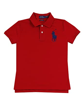 Polo Ralph Lauren Womens Skinny Fit Big Pony Polo Shirt at Amazon Women\u0027s  Clothing store: