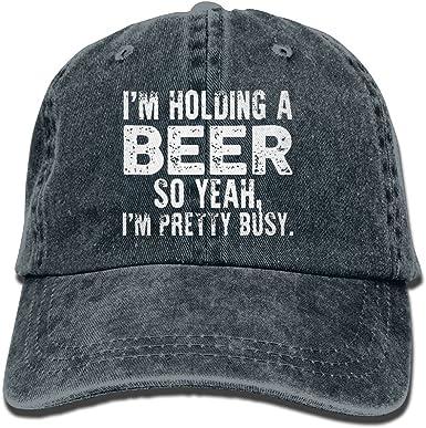 Im Just Your Problem Novelty Unisex Washed Cap Adjustable Dads Denim Stetson Hat