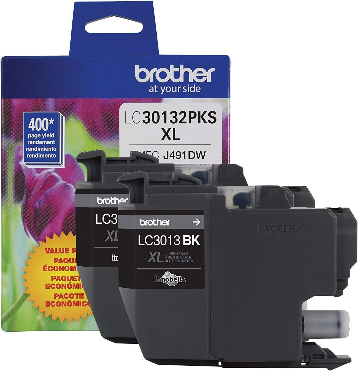 Brother Genuine LC30132PKS 2-Pack Choice High Yield Cartridge Ink Memphis Mall Black