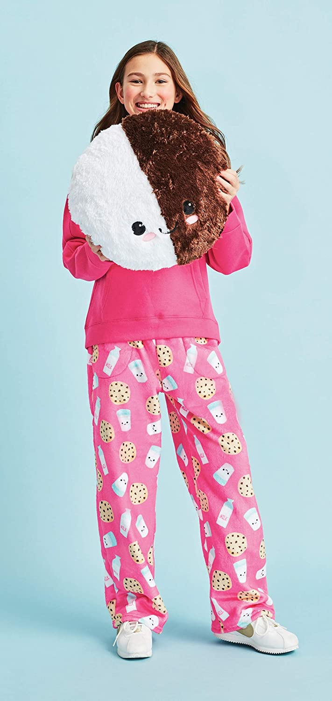 Boho Bliss Collection iscream Big Girls Silky Soft Plush Fleece Pants