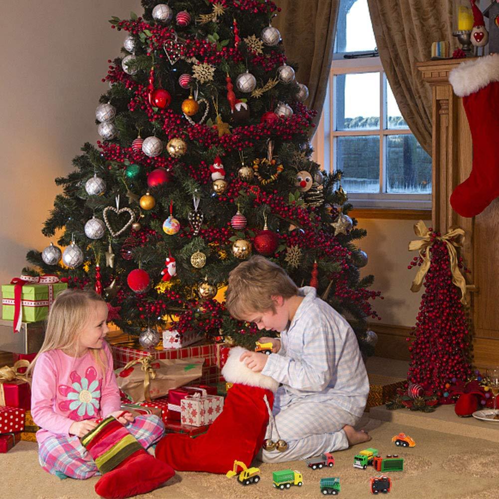 Nuheby Voiture Miniature Lot de Petites Voitures Jouet Enfant Camion Engin Chantier Mini V/éhicule Garcon Fille 3 4 5 Ans 16 Voitures