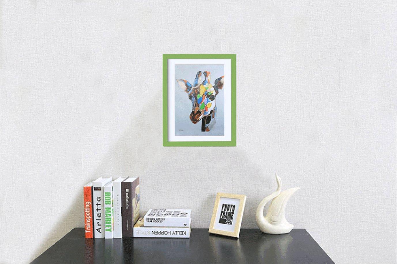DIN A4 Bilderrahmen BOJIN Fotorahmen Zum Aufstellen 15 x 20 cm (mit ...