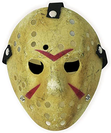 Friday The 13th Costume Prop Hockey Jason Horror Halloween scary Mask for Kids