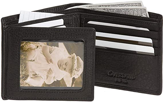 7244c7f849b31 Image Unavailable. Image not available for. Color  Flipper Leather Billfold  Wallet with RFID Protection