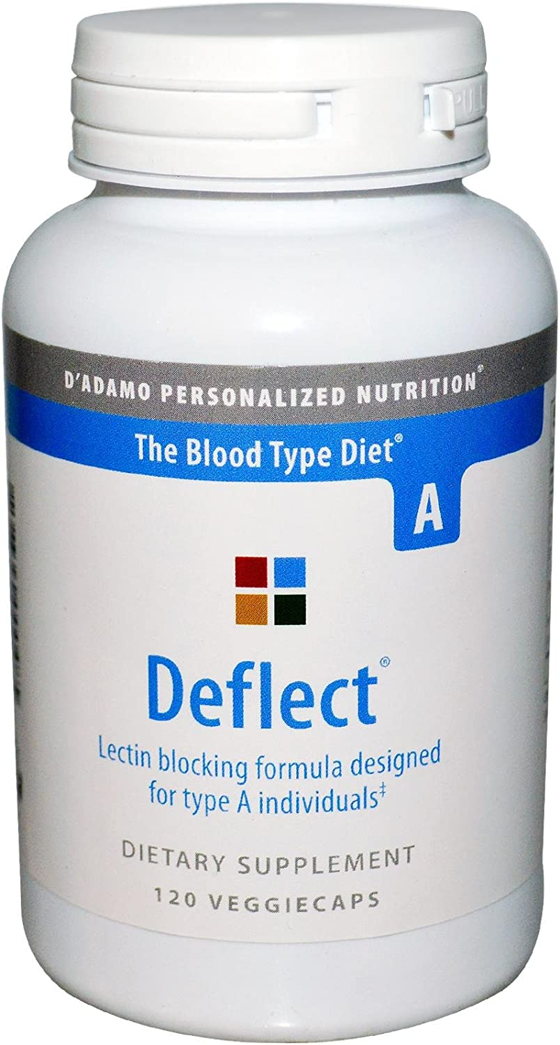 D'Adamo Personalized Nutrition Deflect A, 120 Count
