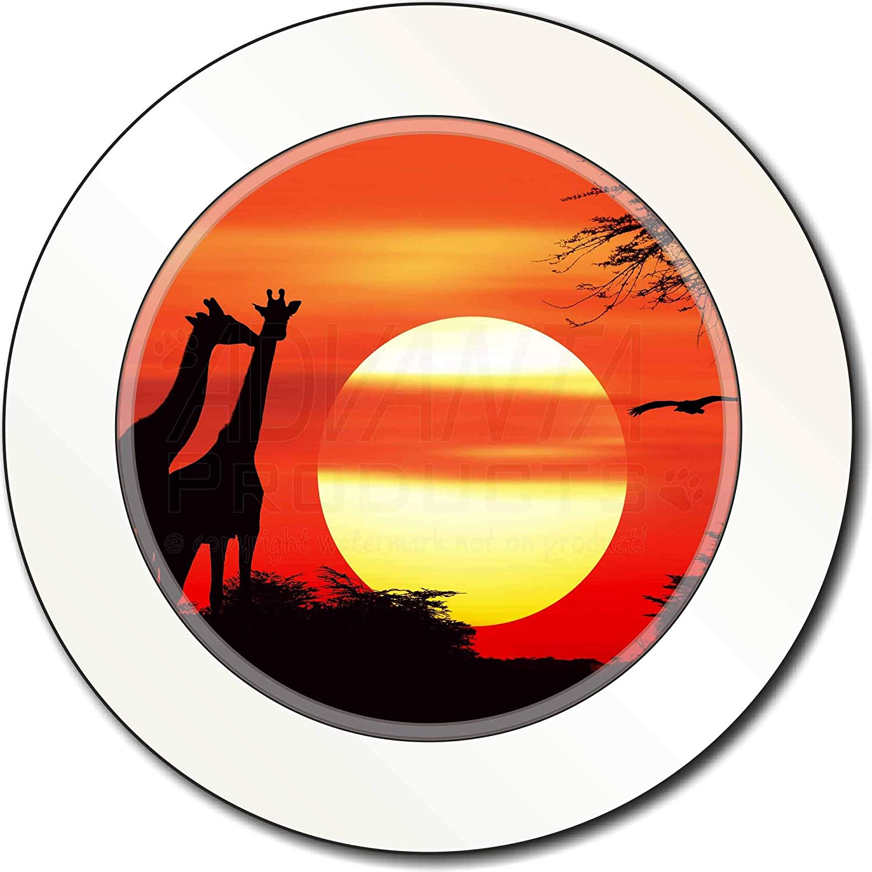 Advanta Group Sunset Giraffes Car//Van Permit Holder//Tax Disc Gift