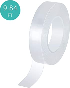 3m Strong Double-sided Clear Transparent Wall Hangings Adhesive Tape Simple New