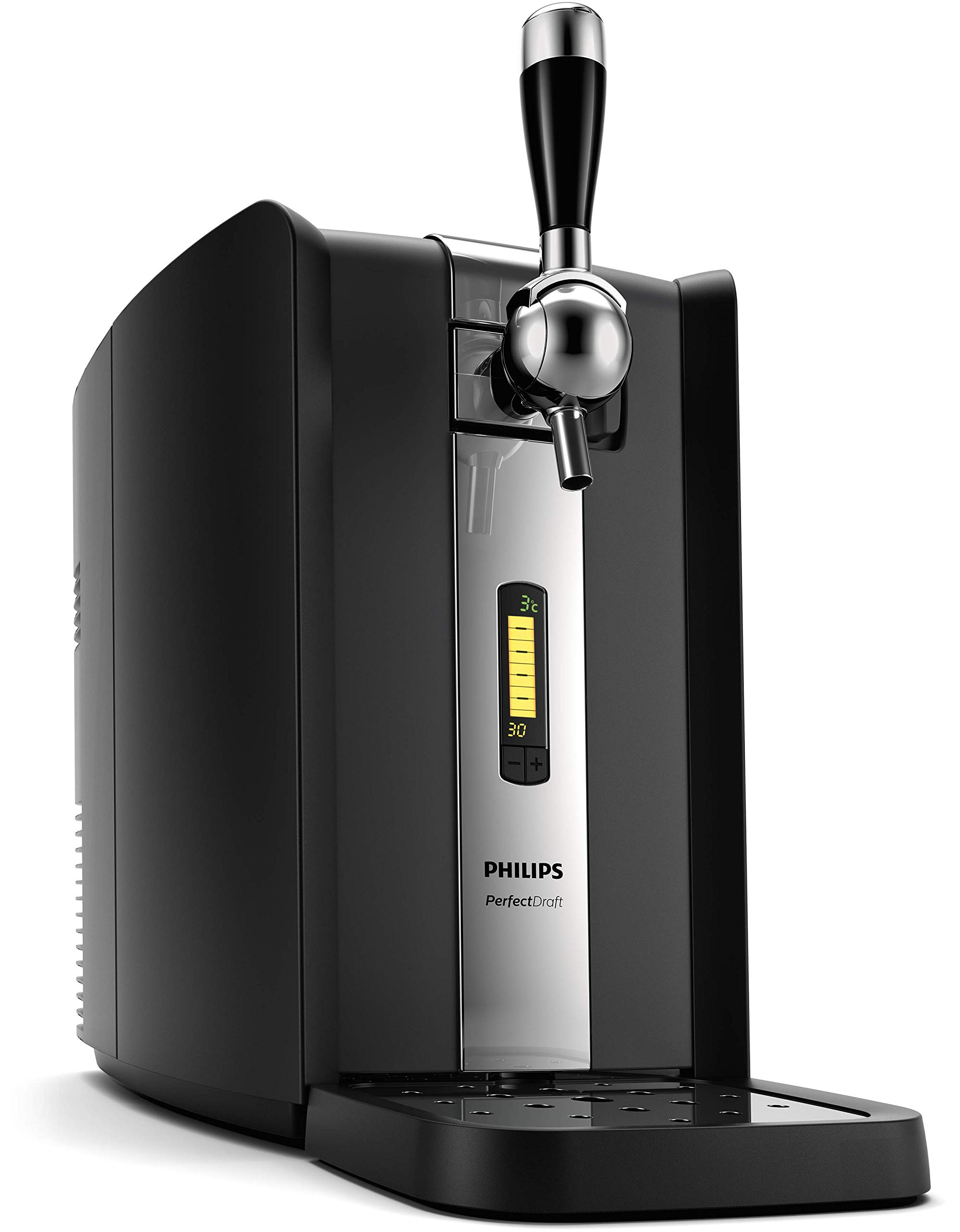 Philips PerfectDraft Keg Machine, HD3720/25 Home Tap, Beer Dispenser, Steel