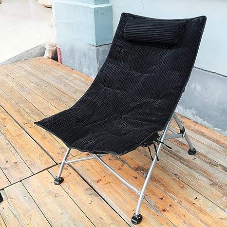 GJJSZ sillón,tumbonas Plegables Ocio Cama Respaldo Chaise Longue Jardín al Aire Libre Patio Sillas de Playa Tumbonas Lavables: Amazon.es: Deportes y aire libre