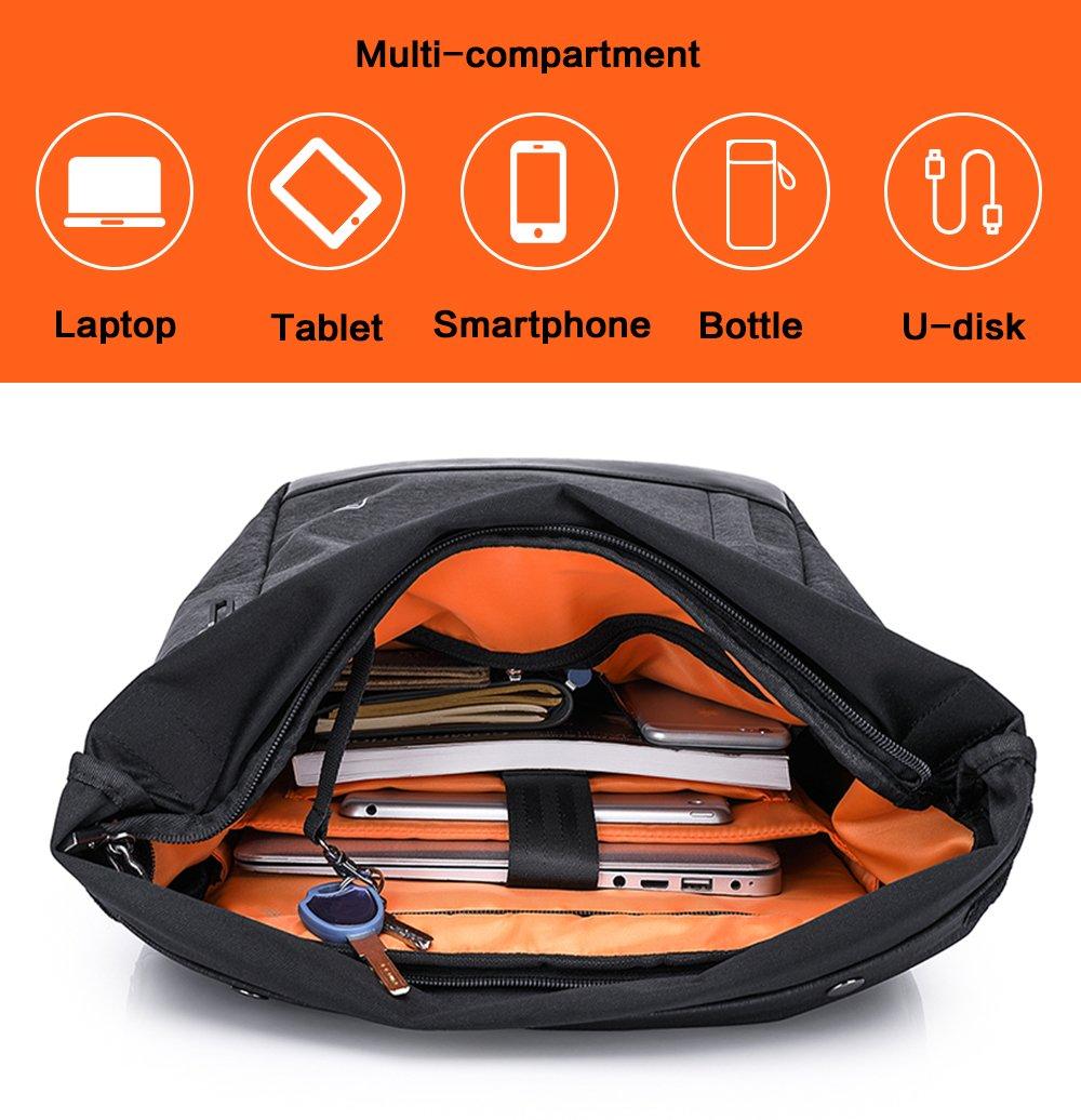 Wasserdicht Laptop Rucksack 15,6 zoll für Männer und Frauen Cornasee Diebstahlsicherung Tagesrucksack Schulrucksack College-Rucksack,große Kapazität 30L Cornasee-bag