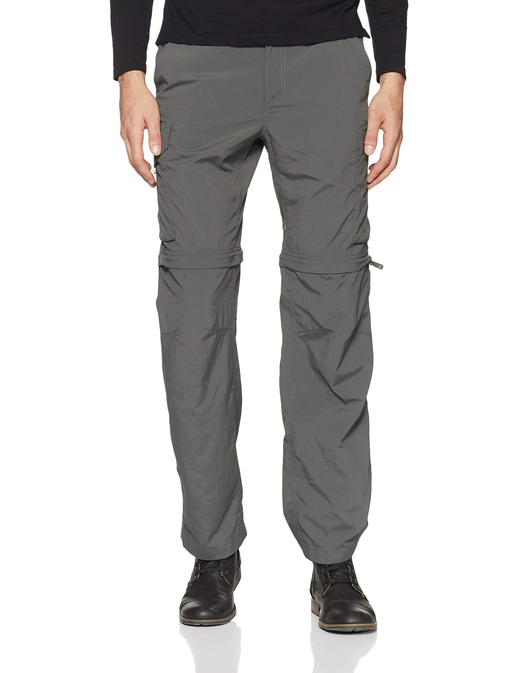 Columbia Men's Silver Ridge Convertible Pants, Grill, 32x36