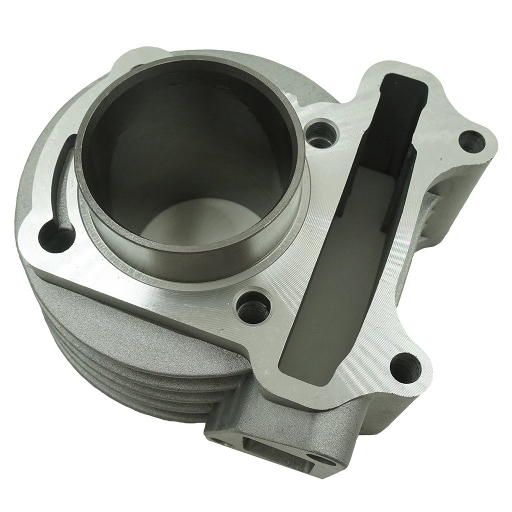 Glixal ATMT1-008 Performance Big Bore Cylinder Kit GY6 80cc 47mm for 139QMB ATV Scooter Moped Go Kart by Glixal (Image #3)