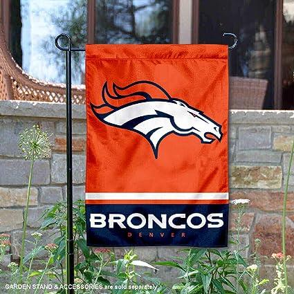 WinCraft Denver Broncos 3 Time Super Bowl Champions Flag