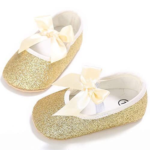 1f3019911bb6c Amazon.com | Elaco Newborn Baby Girl Shoes First Walkers Lovely ...