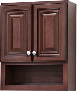 Marvelous Cherry Bathroom Wall Cabinet