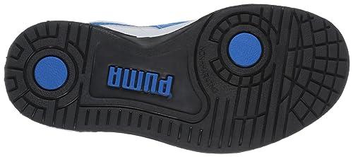 11f57a9e7053fe Puma Full court Lo V Kids 353649 Unisex-Kinder Sneaker  Amazon.de  Schuhe    Handtaschen