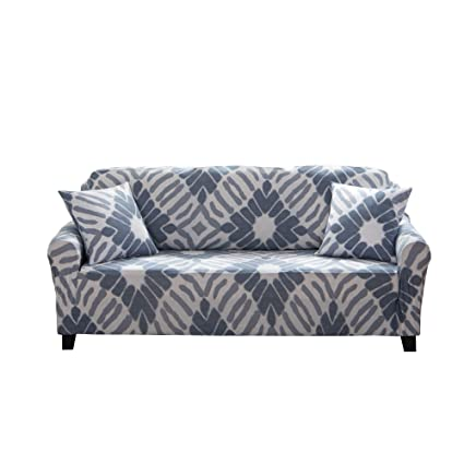 Fabulous Enzer Sofa Slipcover Stretch Elastic Fabric Flower Bird Pattern Chair Loveseat Couch Settee Sofa Covers 1 Piece Pet Dog Protector 2 Seater Abstract Spiritservingveterans Wood Chair Design Ideas Spiritservingveteransorg