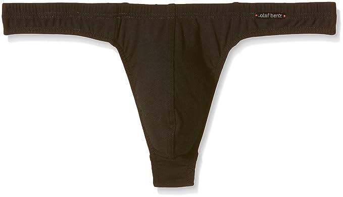 Amazon.com: Olaf Benz Ministring RED1601 ropa interior negro ...