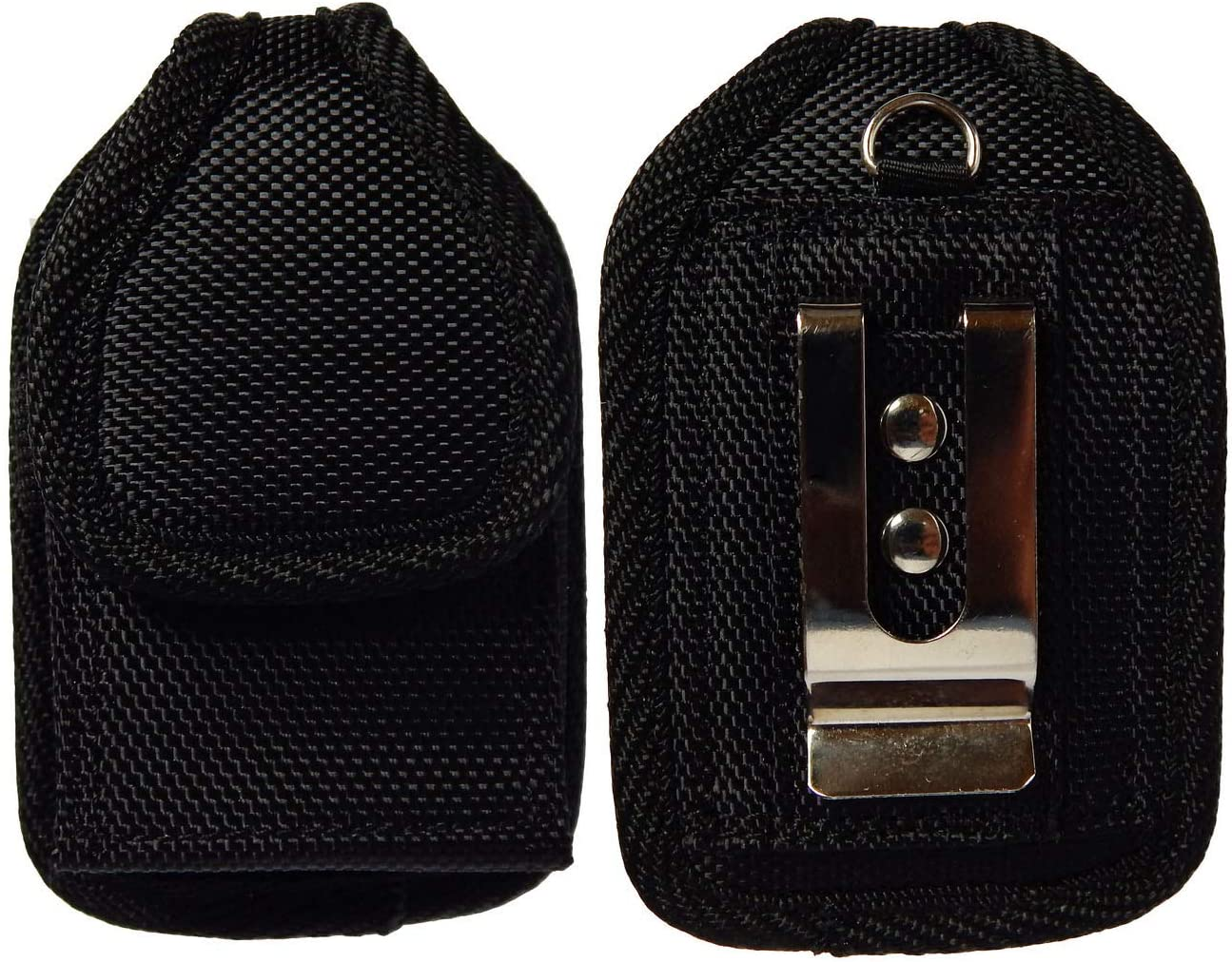 Premium Classic Style Pouch case with Belt Clip for Medtronic Minimed 670G Insulin Pump (vertical/2/black)