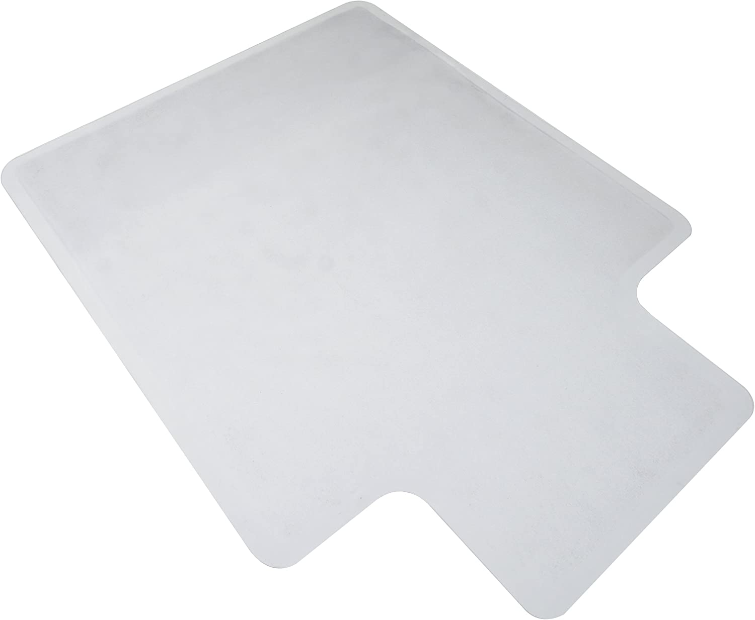 """OFM ESS Collection Chair Mat with Lip for Hard Surface, 36"""" x 48"""", Clear: Furniture & Decor"""