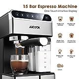 AICOOK Espresso Machine, Barista Espresso Coffee